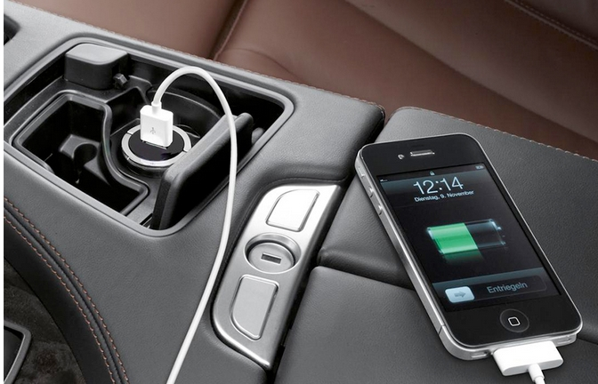 Image result for how to charge phone in car